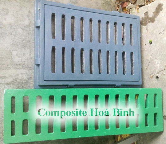 song chắn rác composite, song chan rac composite
